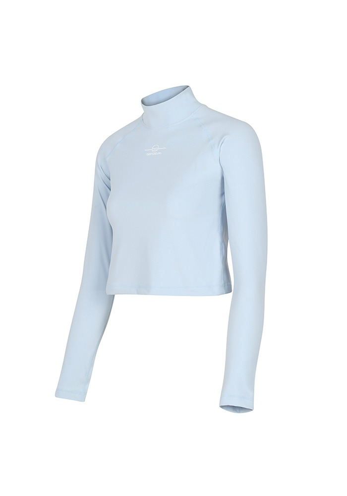 LONG-SLEEVE TURTLENECK_SkyBlue