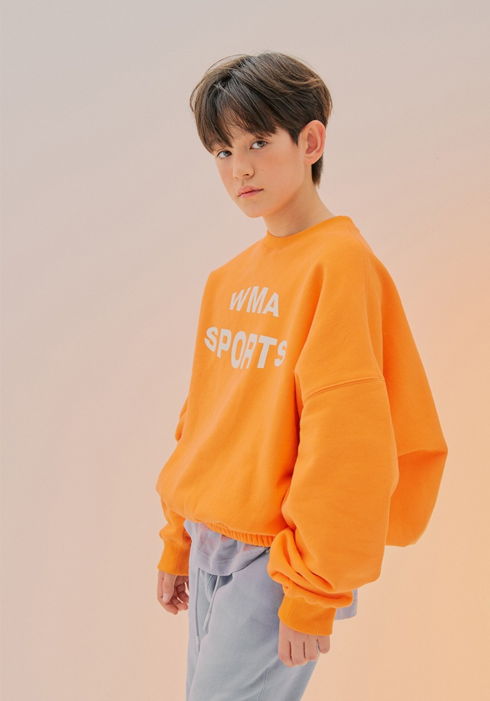 W.S SWEATSHIRT_Orange