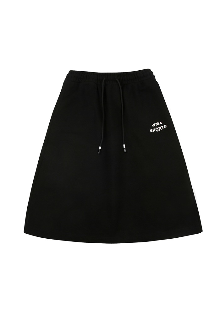 W.S POCKET SKIRT_Black