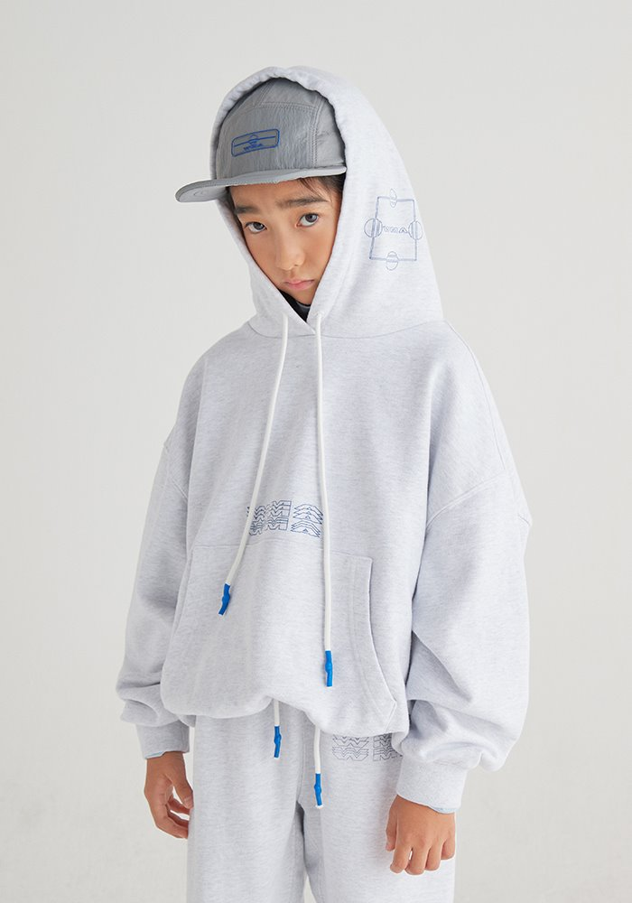BALLOON HOODIE_Silver Grey