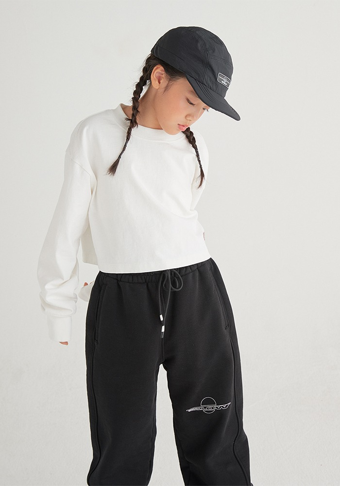 SIDE LINE SWEATPANTS_Black